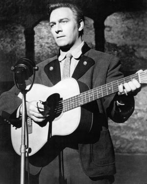 Plummer, as Captain Georg von Trapp, playing a guitar in The Sound of Music, directed by Robert Wise, 1965. Photograph: Silver Screen Collection/Getty Images