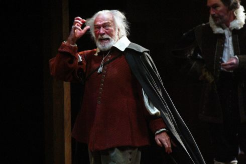 Christopher Plummer in the title role in King Lear at the Vivian Beaumont Theater on Broadway in New York city on February 6th, 2004. Photograph: Sara Krulwich/The New York Times