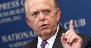 Dobbs' decadelong tenure at the network ended with little warning Photograph: Karen Bleier/AFP via Getty Images