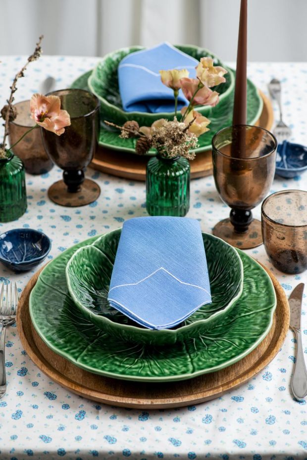 Signature Rental tablescape