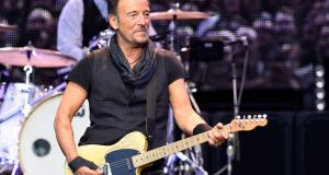Bruce Springsteen is accused of driving while under the influence, reckless driving and consuming alcohol in a closed area. Photograph: Ander Gillenea /AFP via Getty Images