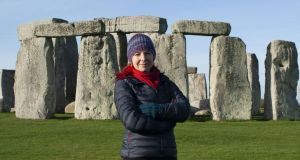 Stonehenge: the new discovery is explored in a BBC Two documentary on Friday presented by Prof Alice Roberts. Photograph: Barney Rowe/BBC