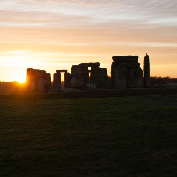 Stonehenge: the bluestones came from a region of Wales considered Irish territory when Geoffrey of Monmouth wrote his account of the monument's origins. Photograph: Barney Rowe/BBC