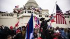 Pro-Trump supporters storm the US Capitol in Washington on January 6th. Photograph: Samuel Corum/Getty Images