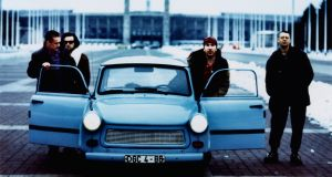 U2 at the time of their Achtung Baby album and tour. Photograph: Anton Corbijn