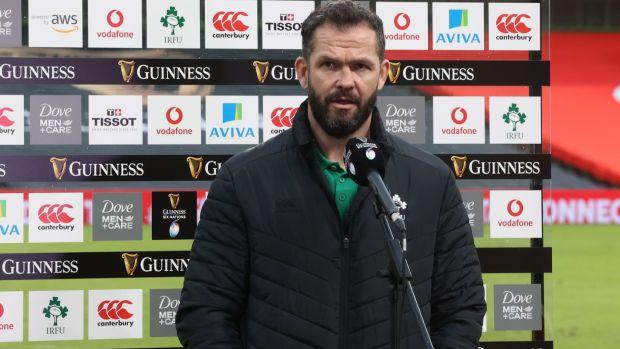 Andy Farrell sta cercando l'Irlanda per vincere le ultime tre partite del Six Nations Championship quest'anno dopo aver perso le prime due partite per la prima volta in 23 anni.  Foto: Billy Stickland / Info