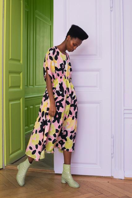Samantha dress by Stine Goya €320 at macbees.ie