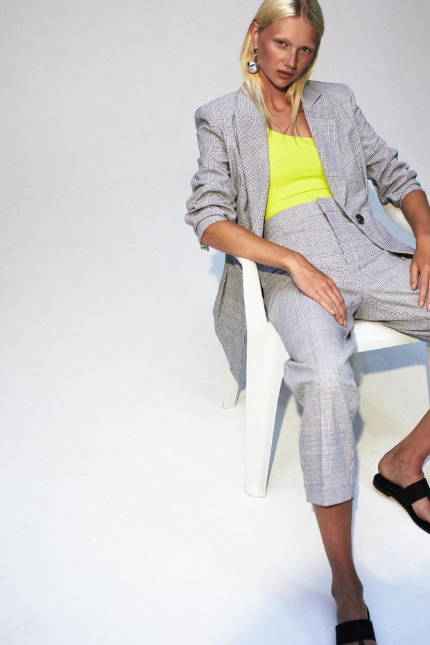 Zora blazer €395, Inessa pants €2,375, both Rodebjer.com and gallery9.ie