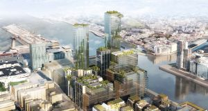 Ronan Group Real Estate is looking for KPMG to relocate to its Waterfront South Central scheme