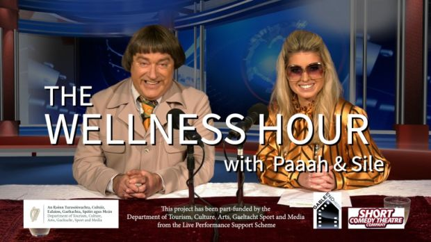 Tipperary comedian Pat Shortt brings his comedy show podcast The Wellness Hour with Paaaah to the screens.