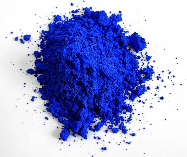 The blue pigment known as YInMn Blue, which also inspired a Crayola crayon called 'Bluetiful'