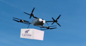 Camile plans to make drone deliveries