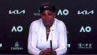 Tearful Serena Williams cuts press conference short after Osaka defeat