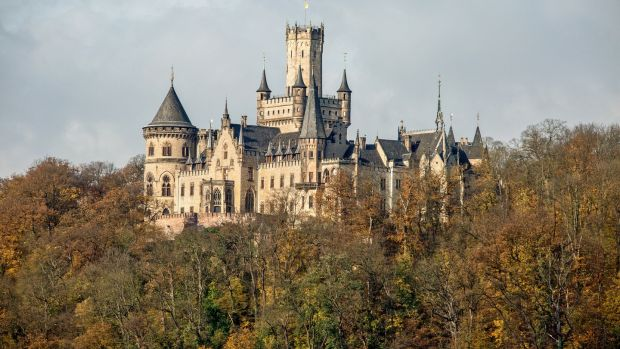Marienburg, a Gothic pile near Hanover, is at the centre of the dispute. Photograph: Rust/ullstein bild via Getty Images