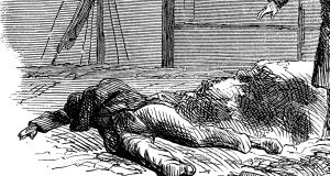 Patrick McPhillips discovered the body of John Wright on January 23rd, 1880. Illustration: iStock