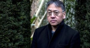 Kazuo Ishiguro: His new novel concerns  an android of unusual curiosity and perceptiveness, especially in the reading of human emotions. Photograph: Andrew Testa/New York Times