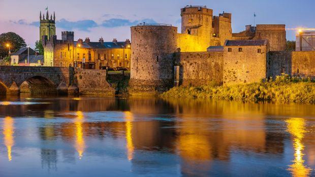 King John's Castle, Limerick.