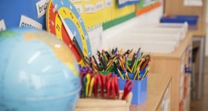 While younger primary school pupils are expected to return to class from early March, deliberations continue as to when children can return to creches. File photograph: iStock