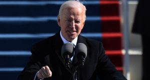 US president Joe Biden will share an address at the annual Glucksman Ireland House dinner. File photograph: Andrew Caballero-Reynolds/AFP via Getty Images