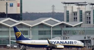 Ryanair rose 4 per cent in trading on Monday