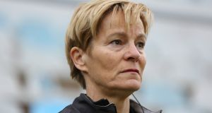 Vera Pauw: hoping to guide the Republic of Ireland women's squad to the finals of a major tournament for the first time.  Photograph: Filip Filipovic/Inpho