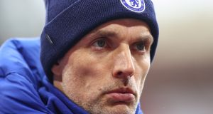 Chelsea manager Thomas Tuchel will hope his team rise to the challenge in the Champions League last-16. Photograph: EPA