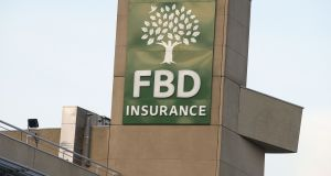 FBD Insurance  is seen by analysts posting a full-year net loss, implying no dividend for shareholders for the year. Photograph: Dave Meehan/The Irish Times