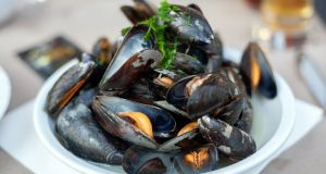 Mussels cook extremely quickly so it's important to have everything chopped and ready before you start cooking them. Photograph: iStock