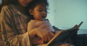 Book reading before bed is an important part of bedtime best practice. Photograph: iStock