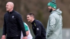 Andy Farrell defends decision to pick all-Leinster backline for Italy