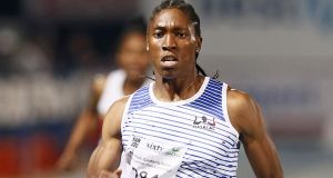 Caster Semenya: South African 800m Olympic champion. Photograph: Phill Magakoe/AFP/Getty Images