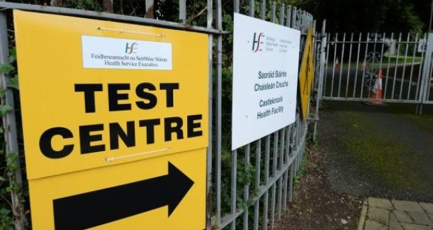 "Covid-19: There were 81,121 referrals for community testing where a ""valid reservation was recorded"" in the week up to last Friday. File photograph: Alan Betson/The Irish Times"