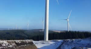 The Cordal wind farm in Co Kerry consists of 28 3.2MW GE turbines.
