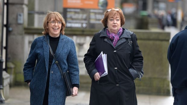 Social Democrats co-leaders Róisín Shortall and Catherine Murphy. File photograph: Dara Mac Dónaill
