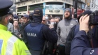 Clashes in Dublin as hundreds protest against Covid-19 restrictions