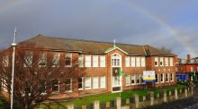 St Joseph's CBS secondary school in Fairview, Dublin, one of the schools which has benefited from the Three offer.