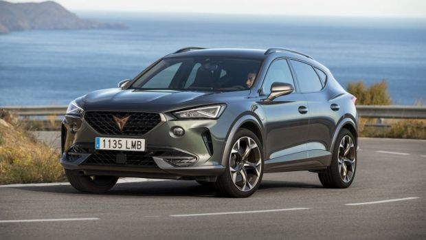 You can look at the new Cupra Formentor in two ways: an expensive Seat or an inexpensive Audi or Porsche