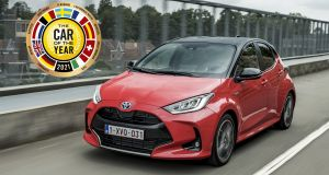 The new Toyota Yaris has been named Europe's Car of the Year 2021.