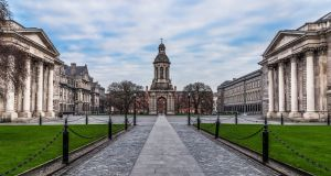 Between 1855 and 1863, some 24 per cent of Indian Civil Service recruits came from Irish universities, including Trinity College. Photograph: iStock