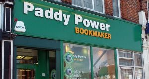 Paddy Power Betfair owner Flutter Entertainment, which reports results on Tuesday, performed well. Photograph: Michael Stephens/PA Wire