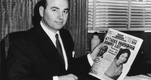 Media tycoon Rupert Murdoch takes over Sydney tabloid the Daily Mirror, May 1960. (Photo by Keystone/Hulton Archive/Getty Images)
