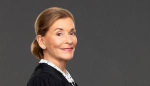 Judge Judy: 'If you decide to stay too long at the party, your makeup begins to fade.' Photograph: Sonja Flemming/CBS