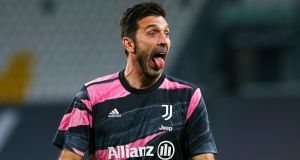Gianluigi Buffon has impressed when called upon this season. File photograph: Getty Images