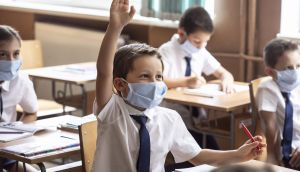 Covid-19 and schools: none of the three vaccines authorised by the European Medicines Agency is licensed for use in children, and probably won't be until at least the end of this year. Photograph: E+/iStock/Getty