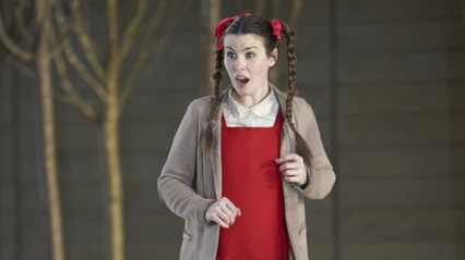 Anna Devin as Gretel in a 2013 production of Engelbert Humperdinck's Hansel and Gretel. Photograph: Colin Willoughby