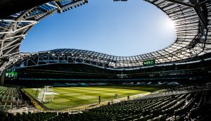 Lansdowne Road is due to host four Euro 2020 ties this summer. Photograph: James Crombie/Inpho