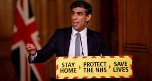 Britain's chancellor of the exchequer Rishi Sunak: his answer to Britain's low productivity is a 'super deduction' to encourage firms to invest. Photograph: Getty