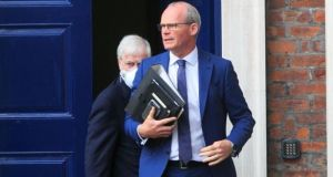 "Minister for Foreign Affairs Simon Coveney said: ""A unilateral announcement is deeply unhelpful"". File image: Gareth Chaney/Collins"