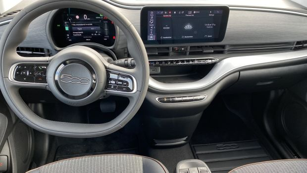 The interior is a massive leap forward in terms of quality.