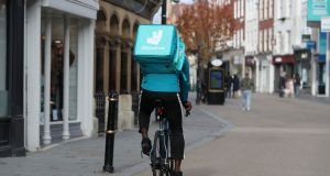 In a private financing in January Deliveroo was valued at about $7 billion, a figure that had already doubled since an Amazon-led investment in 2019. Photograph: PA Wire